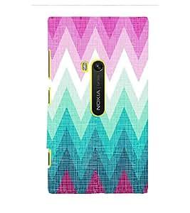 EPICCASE triangle case Mobile Back Case Cover For Microsoft Lumia 920 (Designer Case)