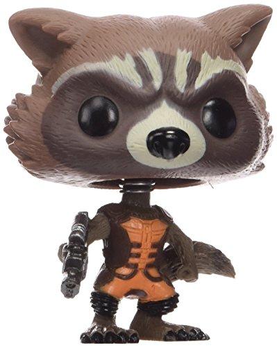 Funko: Guardianes de la Galaxia PDF00003981 - Rocket Raccoon PDF00003981 - Figura Guardianes de la Galaxia Mapache Funko (10 cm)