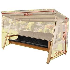 housse de protection pour balancelle opaque jardin. Black Bedroom Furniture Sets. Home Design Ideas