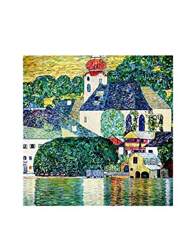 Foto Canvas picture St. Wolfgang Church - Gustav Klimt
