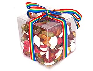 Haribo Jelly Sweets Gift Cube (Large) - Perfect Retro Christmas Gift