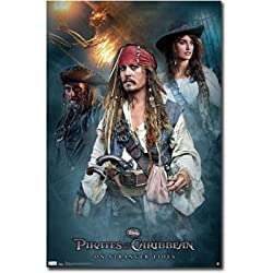 "Official ""Pirates of the Caribbean: On Stranger Tides"" Movie Poster Eligible for FREE Super Saver Shipping"