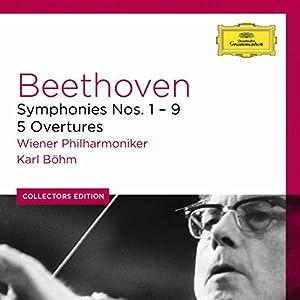 Beethoven : les 9 Symphonies - 5 Ouvertures