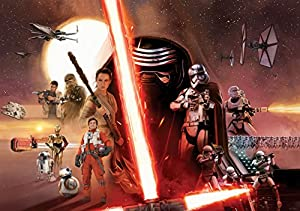 Photo Wallpaper with Photo Omural Wall Decoration DISNEY STAR WARS 2737 from Consalnet