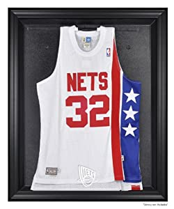 New Jersey Nets Jersey Display Case by Mounted Memories