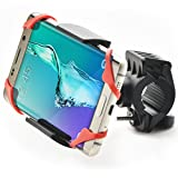 Bestrix Universal Bike Mount Cell Phone Holder, Adjustable Bicycle/Motorcycle Handlebar Smartphone Cradle, 360 Degree Rotation for Any Smart Phone and GPS Device (iPhone, Galaxy, Nokia, HTC)