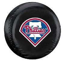 Philadelphia Phillies Black Logo Tire Cover