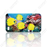 Tropical Fish Undersea World Iphone 4 4s Case Fit At&t Sprint and Verizon Iphone4 Iphone4s
