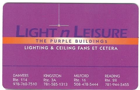 Light N Leisure Gift Card front-1022241