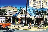 ハワイアン雑貨 インテリア/キャンバス パネル絵(ABC Store) 【ハワイ雑貨】【お土産】