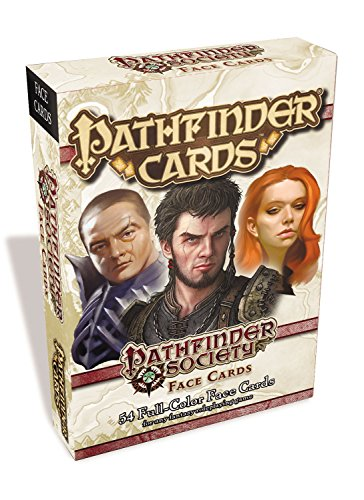 Pathfinder Society Face Cards Deck