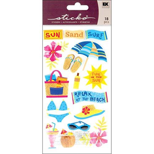 sticko-stickers-sun-surf-sand