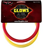 RingStix - Spare Rings - Red and Glow-in-The-Dark