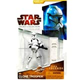 Clone Trooper Episode II Legends SL04 Legacy Collection Star Wars Action Figure