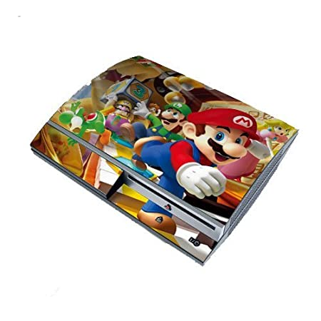 Super Mario PS3 Playstation 3 Body Protector Skin Decal Sticker, Item No.PS30853-54
