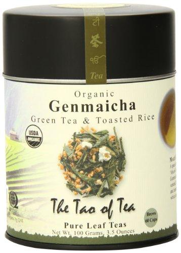 The Tao Of Tea, Genmaicha Green Tea And Toasted Rice, Loose Leaf, 3.5 Ounce Tin