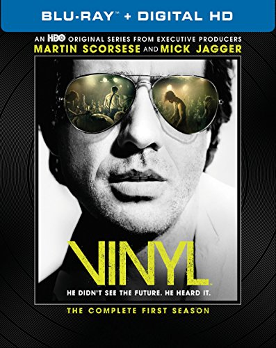 Blu-ray : Vinyl: The Complete First Season (Boxed Set, Digitally Mastered in HD, 4 Disc)