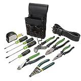 Greenlee 0159-13 Electrician's Tool Kit, Standard (Tamaño: 12-Piece)