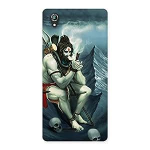 Cute Shiva Multicolor Back Case Cover for Lava Iris 800