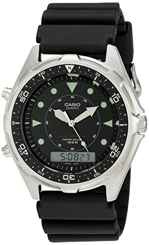 Casio Men's AMW320R-1EV Marine Analog-Digital Dive Watch