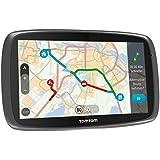 TomTom Go 610 World Navigationssystem (15 cm (6 Zoll) kapazitives Touch Display, Magnethalterung, Sprachsteuerung, mit Traffic/Lifetime Weltkarten)