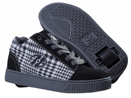 Heelys STRAIGHT UP Schuh 2014 black/plaid/charcoal/white 38