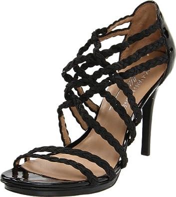 Donald J Pliner Women's Maura Sandal,Black,6.5 M US