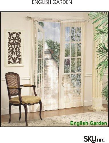Sliding Glass Door Window Treatments Discount: English Garden Trompe ...