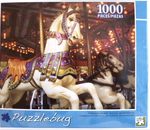 Puzzlebug Carousel Horse, Seattle 1000 Piece Puzzle