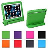 HDE Kids Light Weight Foam Shock Proof Foam Handle Case for iPad Mini & Mini w/ Retina Display (Green)