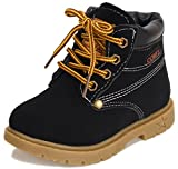 Doris Kids Waterproof Lace Up Boots Baby Boy Girl Hiking Snow Boots (Toddler / Little Kid )