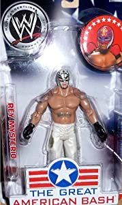 WWE WWE Jakks Pacific Wrestling Great American Bash Pay Per View Action Figure Rey Mysterio