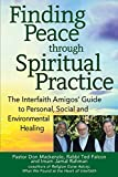 img - for Finding Peace through Spiritual Practice: The Interfaith Amigos' Guide to Personal, Social and Environmental Healing book / textbook / text book
