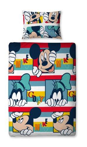 Character World Disney Mickey Mouse Play Copri Piumino Singolo