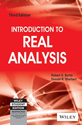 Introduction To Real Analysis, 3Rd Ed