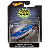 Hot Wheels Classic TV Series Batboat with Trailer Vehicle