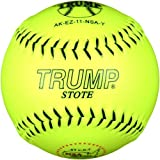 Trump® AK-EZ-11-NSA-Y AK-EZ Series 11 Inch Synthetic Leather .47 Core NSA Softball (Sold in Dozens)