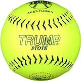 Trump® AK-EZ-11-NSA-Y AK-EZ Series 11 Inch Synthetic Leather .47 Core NSA Softball (Sold in Dozens)