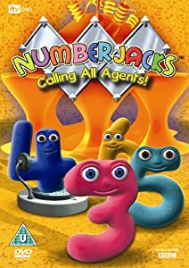 Numberjacks - Calling All Agents! [DVD]