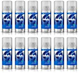 New 12 X Gillette Series Shaving Gel Sensitive Skin 75ml Aloe Vera - Travel Size