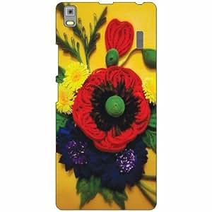 Lenovo K3 Note - PA1F0001IN Back Cover - Silicon Flowers Designer Cases