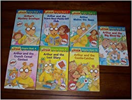 A MARC BROWN ARTHUR CHAPTER BOOK 7 BOOKS Arthurs Mystery Envelope Arthur And The Scare
