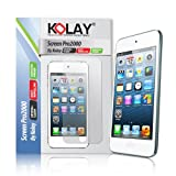 5G Touch LCD 2 Pack Screen Protector & Cleaning Cloth Kit for New Apple iPod Touch 5 5th Generation - 32GB 64GB