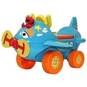 Amazon Com Sesame Street Fly With Elmo Activity Ride On