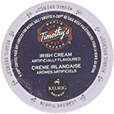 Timothy's World Coffee * IRISH CREAM * 24 K-Cups for Keurig Brewers