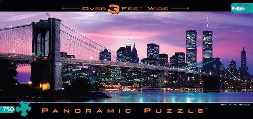 Cheap Fun Buffalo Games Brooklyn Bridge 750 Pieces Jigsaw Puzzle (B004A16QHG)