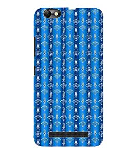 EPICCASE fountain blue Mobile Back Case Cover For Lenovo A2020 (Designer Case)