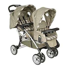 Eddie Bauer All-Terrain Tandem Stroller Bryant Collection