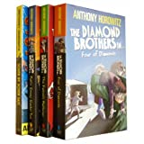 Anthony Horowitz Diamond Brothers 7 Books Collection Pack Set (The Greek Who Stole Christmas, The Blurred Man, I Know What You Did Last Wednesday, The French Confection , South by South East, The Falcons Malteser, Public Enemy Number Two)by Anthony Horowitz
