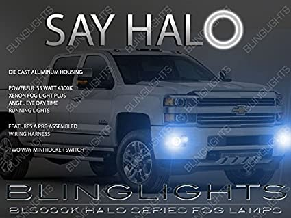 Halo Fog Lights Chevy Silverado 2015 2016 Chevy Silverado Halo